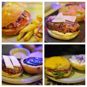 Hamburguesas en el Big Joe's