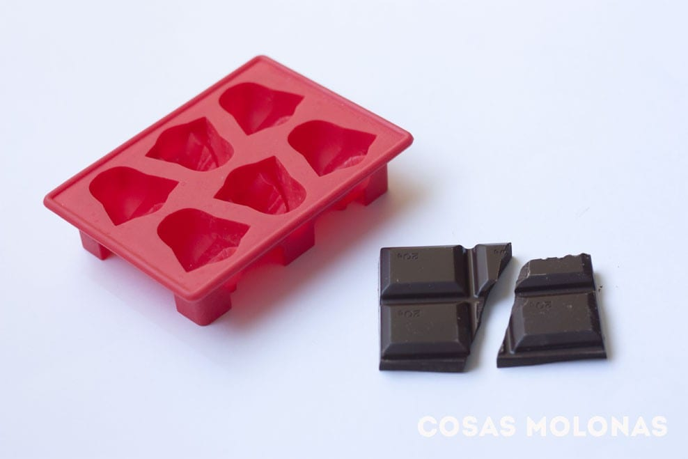 Friki DIY: Chocolatinas de Darth Vader en blog.cosasmolonas.com