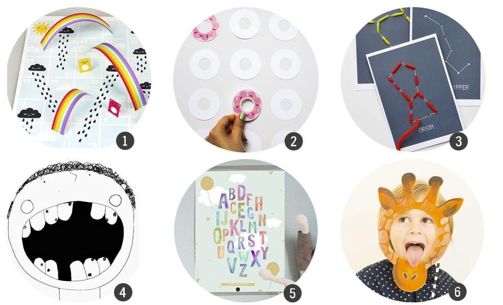Imprimibles gratis: 18 recursos para aprender y jugar estas ...