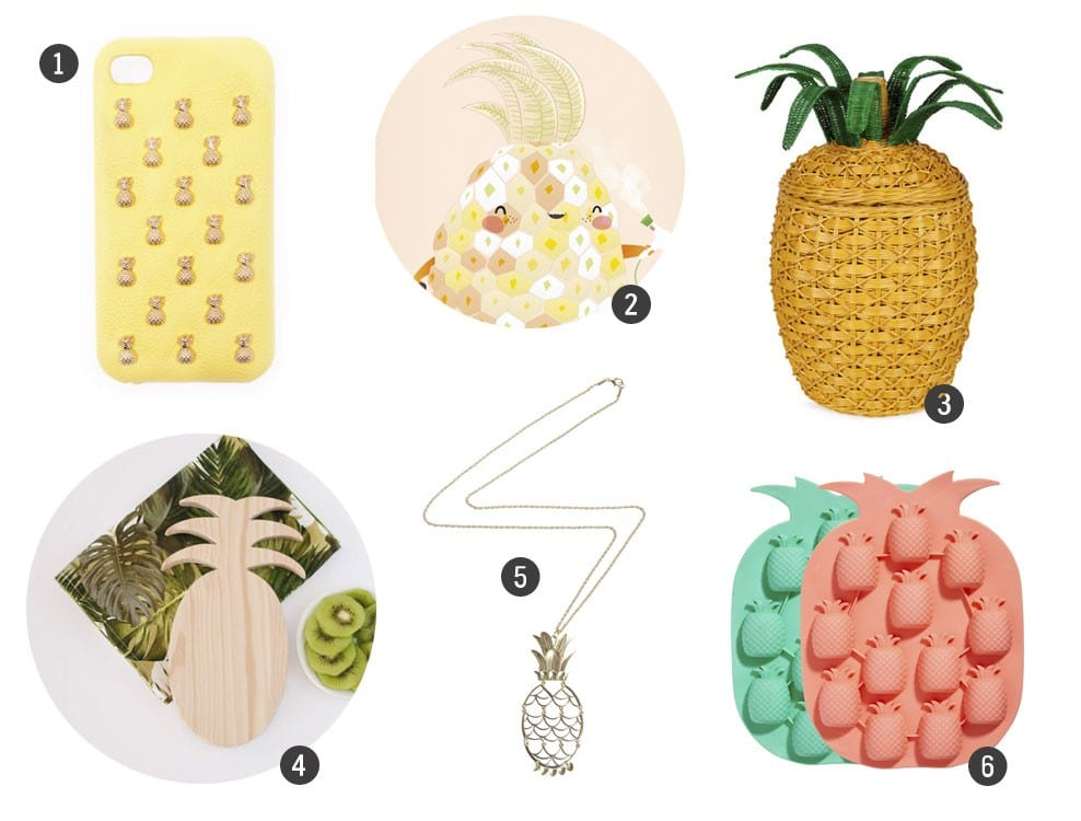 Tendencias DIY / Deco: Piña time!