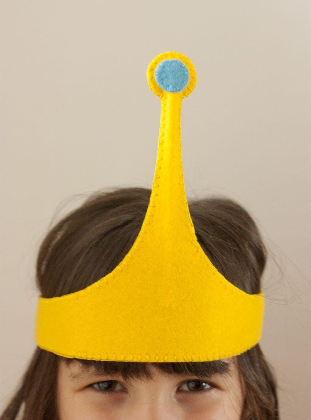 DIY: Cómo hacer la corona-diadema de la Princesa Chicle de Hora de Aventuras (plantilla incluida)