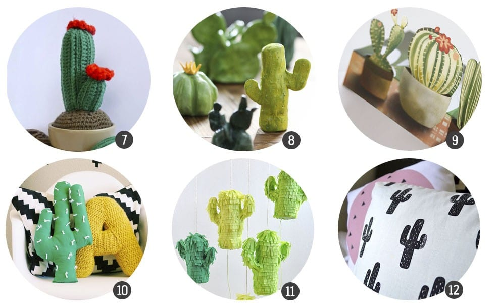 Tendencias DIY: cactus