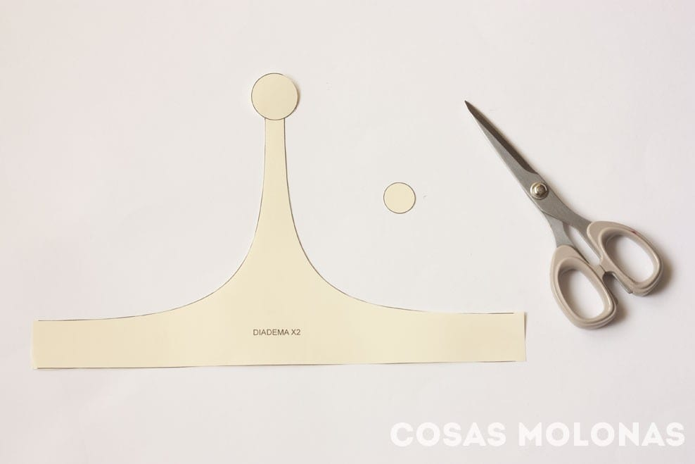 Cómo hacer la diadema de la Princesa Chicle de Hora de Aventuras (plantilla incluida) // How to make Princess Bubblegum crown from Adventure Time (+ free template!)