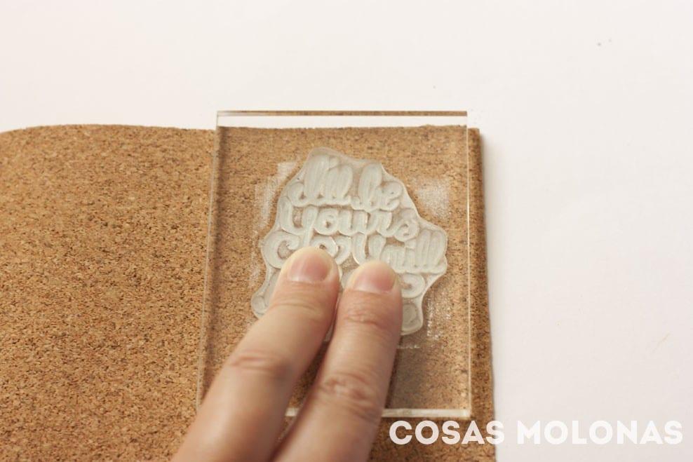 DIY Cómo hacer tus propios embellecedores de corcho