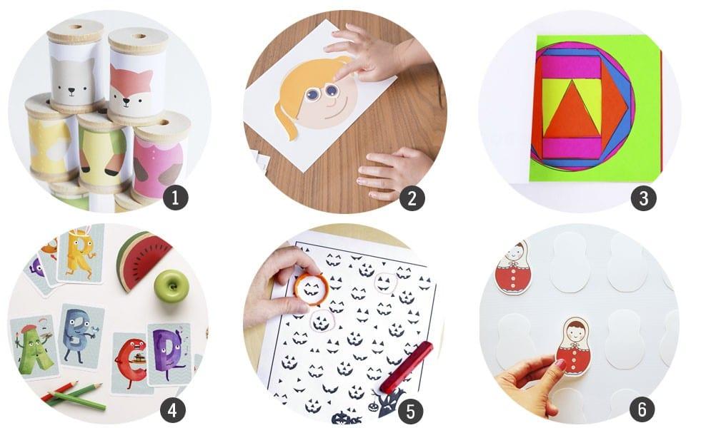 Imprimibles gratis: 18 recursos para aprender y jugar este Otoño