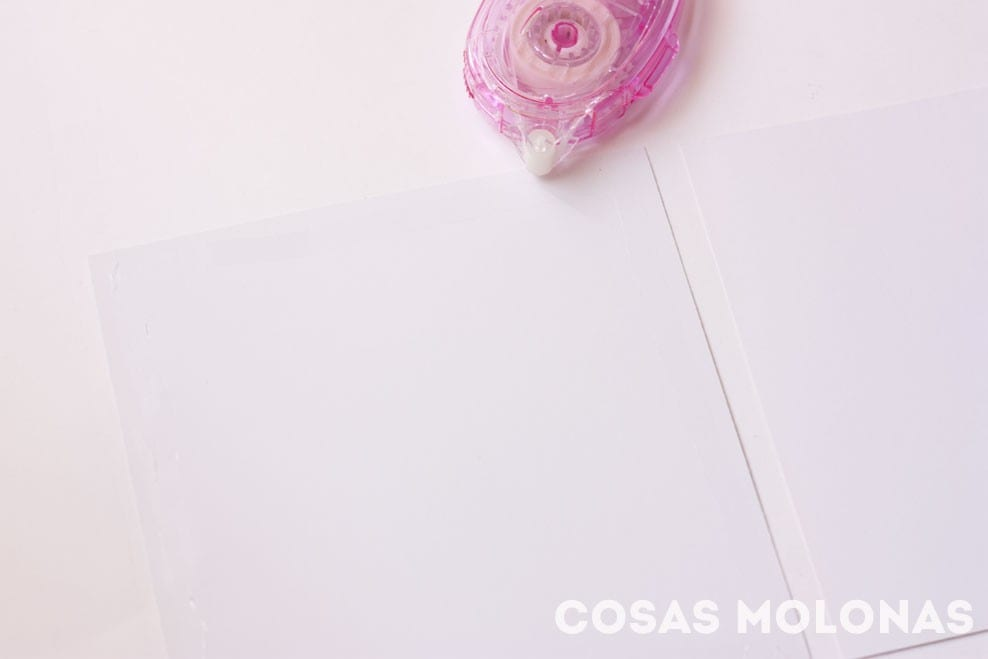 Scrap: Cómo montar la estructura de un mini álbum