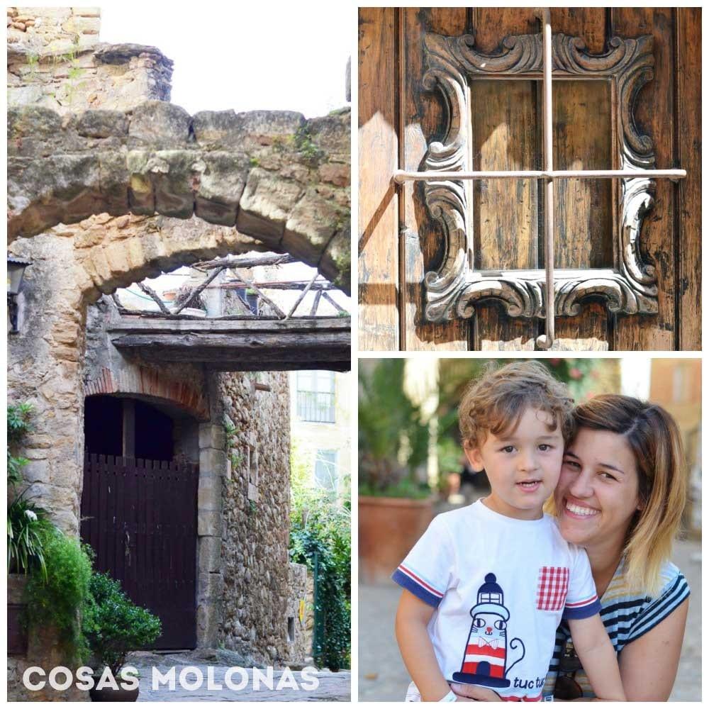 Viajar con niños: La costa Brava (Pals)