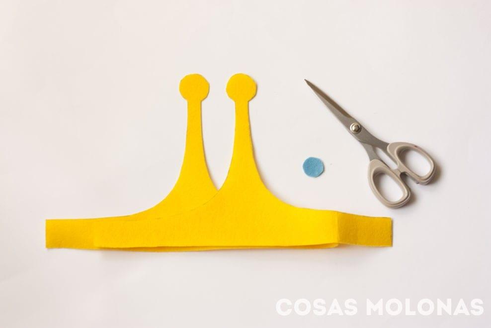 Cómo hacer la diadema de la Princesa Chicle de Hora de Aventuras (plantilla incluida) // How to make Princess Bubblegum crown from Adventure Time (+ free template!)