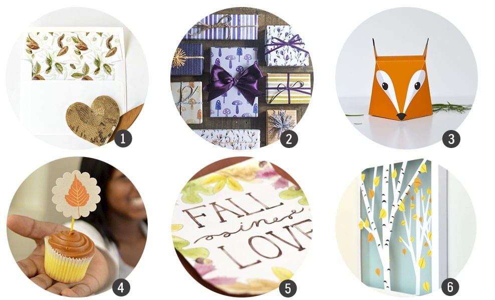 Imprimibles gratis: 18 recursos inspirados en el Otoño