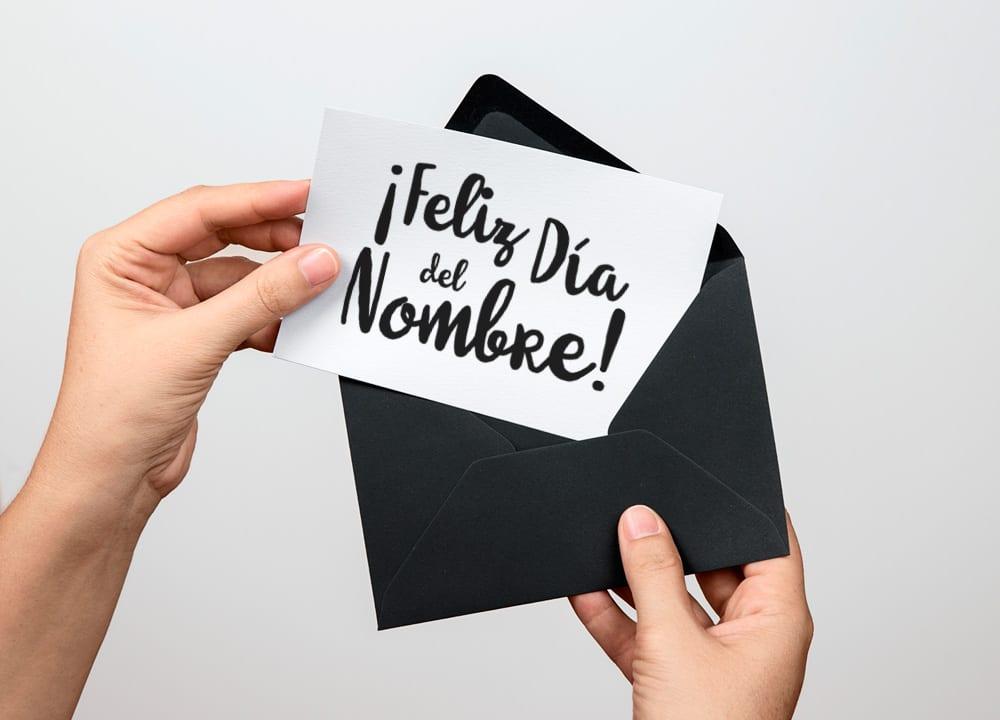 Imprimible: Tarjeta «Feliz Día del Nombre» inspirada en Juego de Tronos