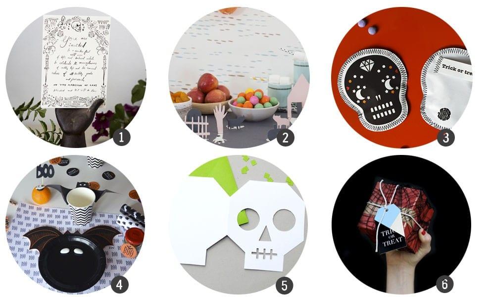 Imprimibles gratis: 18 recursos terroríficos para Halloween