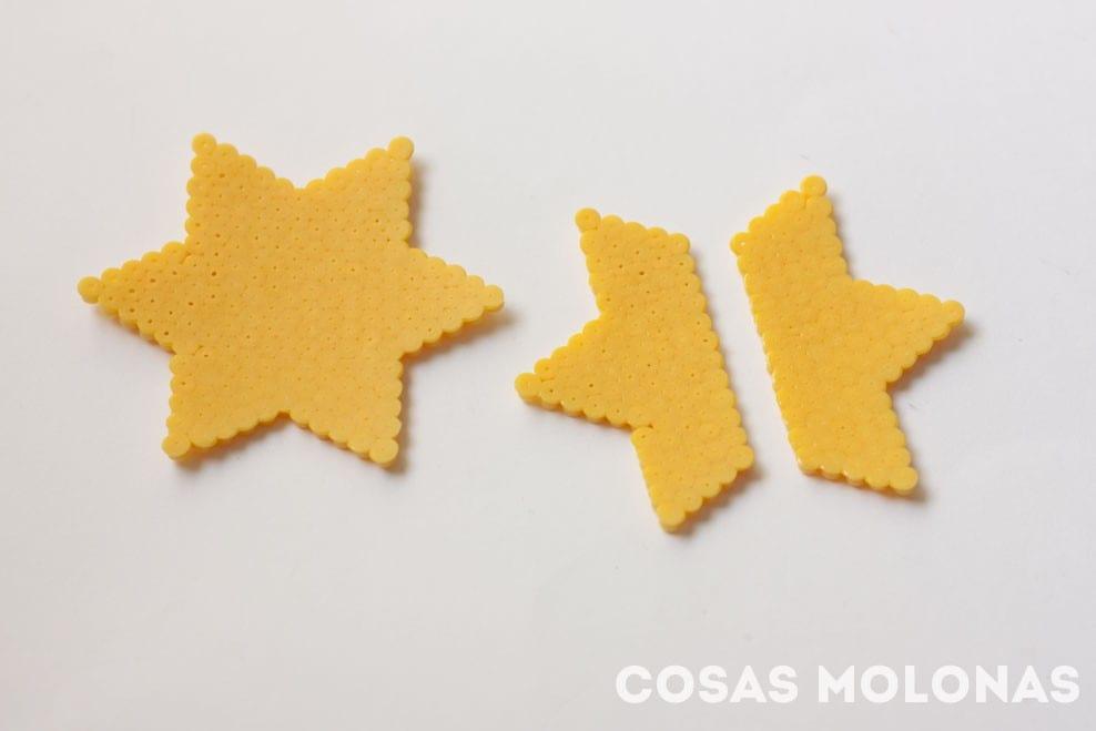 DIY Adornos 3D usando abalorios Hama o Pyssla