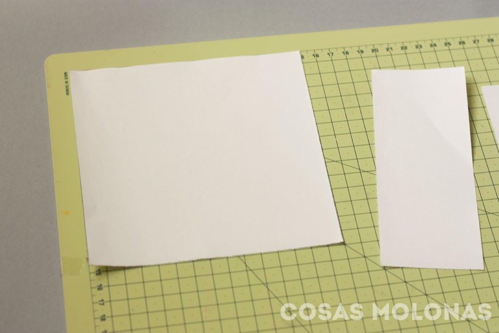 DIY Cómo hacer adornos de copos de nieve de papel #kirigami