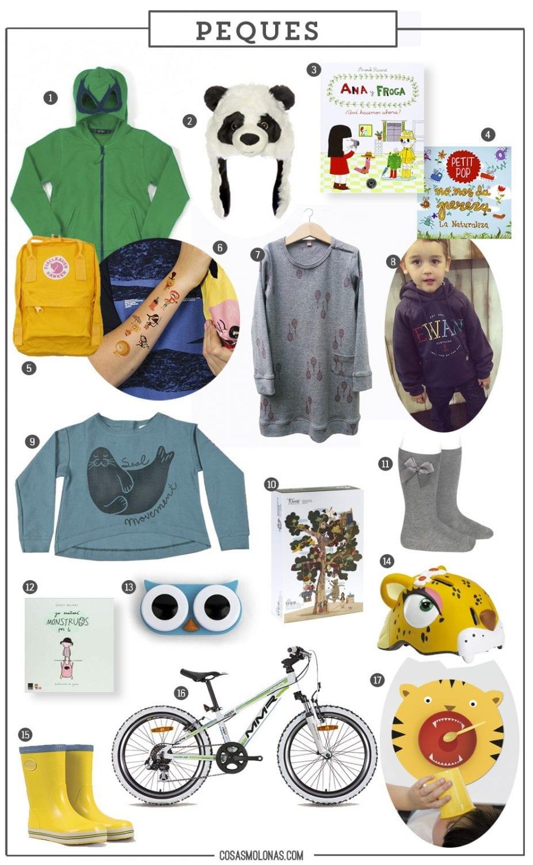 Guía de regalos: para los pequeños de la casa en www.cosasmolonas.com