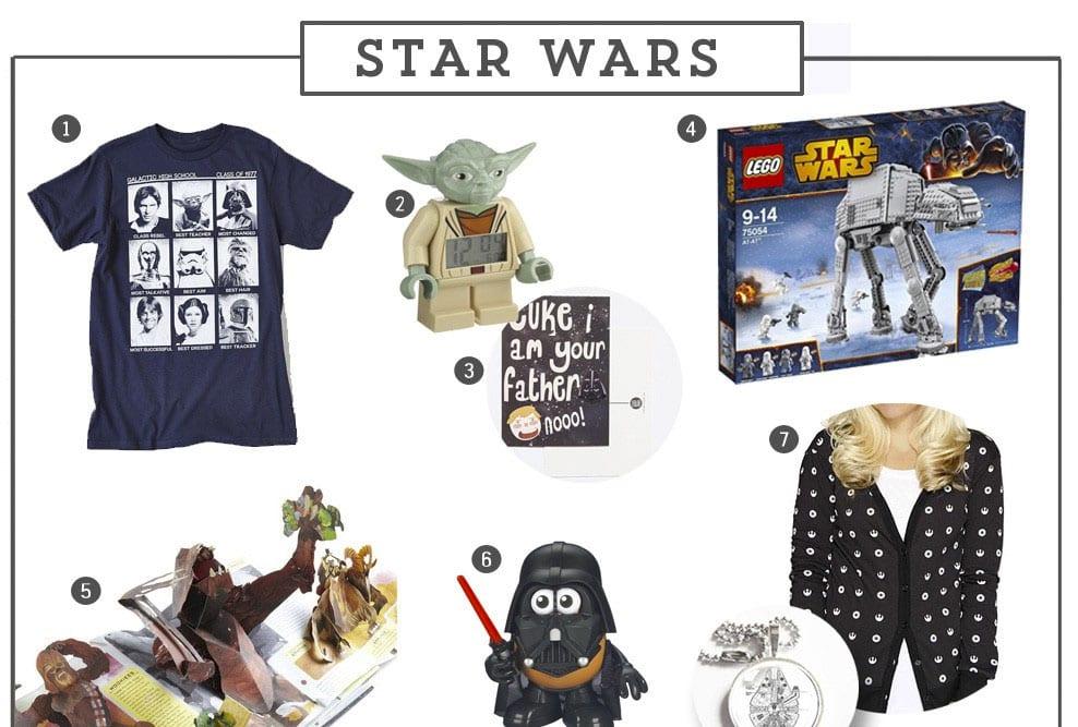 Guía de regalos para fans de Star Wars