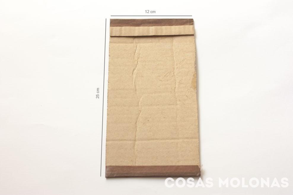 DIY Cómo fabricar un telar con cartón reciclado