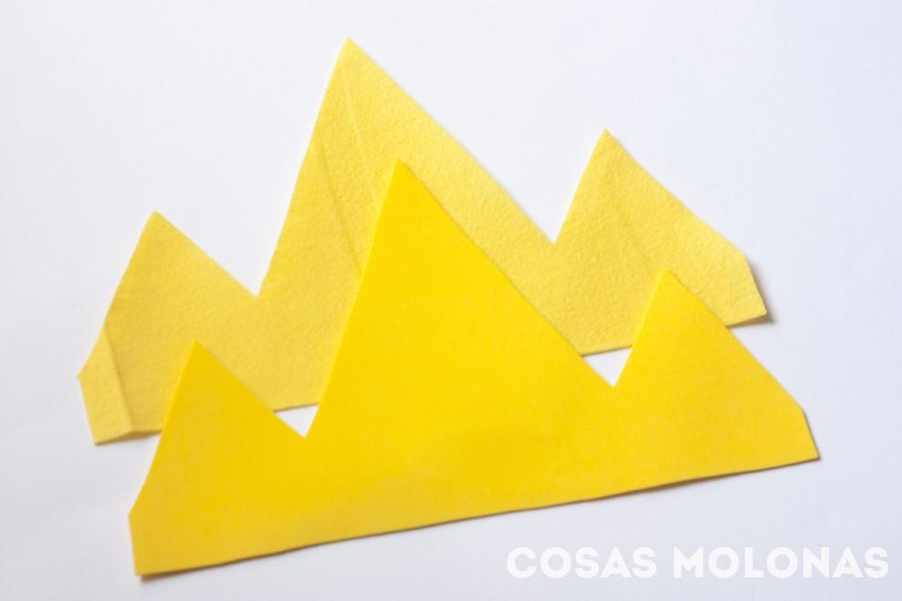 DIY Corona del Rey Hielo / Rey Helado de Hora de Aventuras (plantilla incluida)
