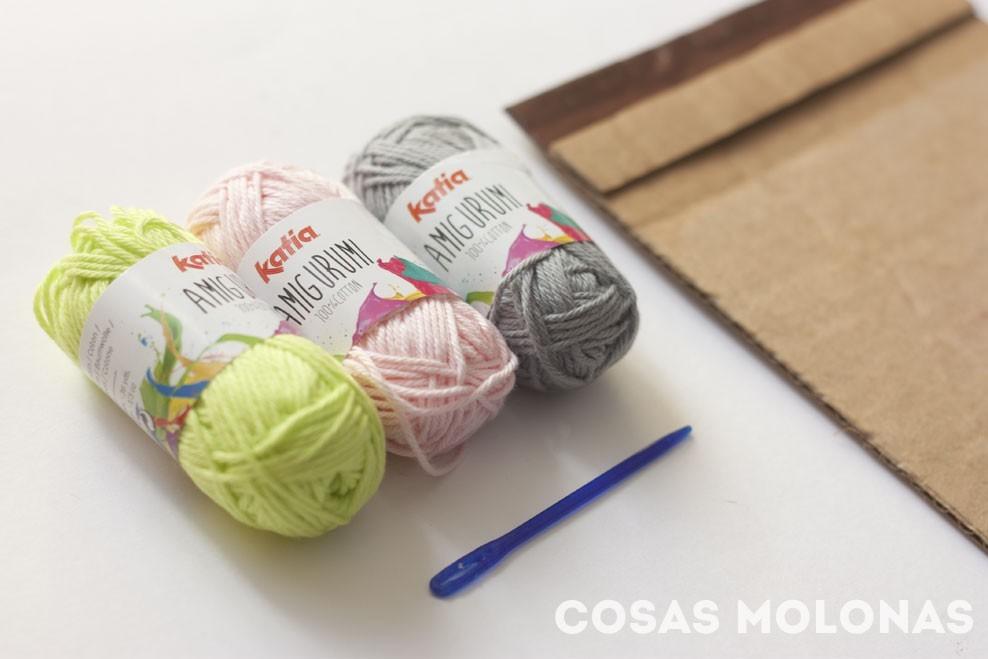 """DIY Cómo fabricar un """"telar"""" con cartón reciclado"""