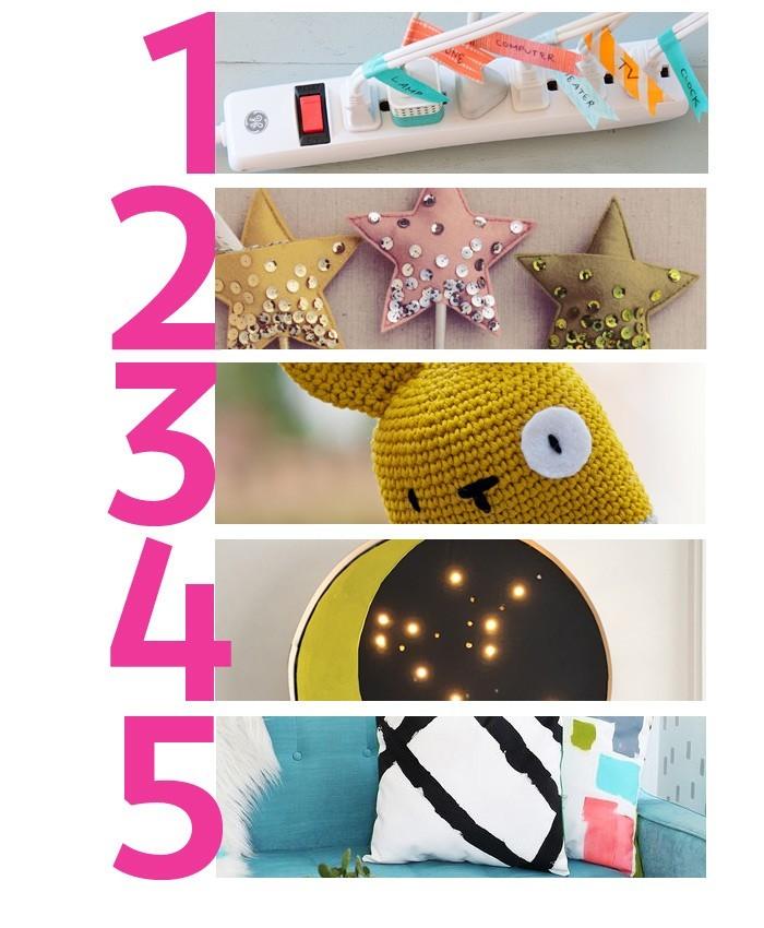 Top 5 DIYs para intentar este finde