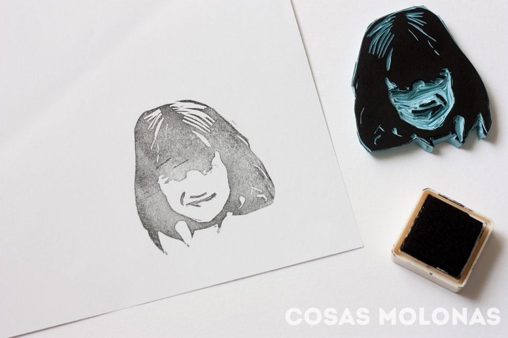 DIY Cómo hacer un sello a partir de una fotografía