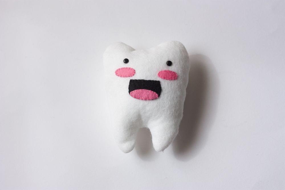 DIY / Mini-cojín de peluche para cuando se cae un diente