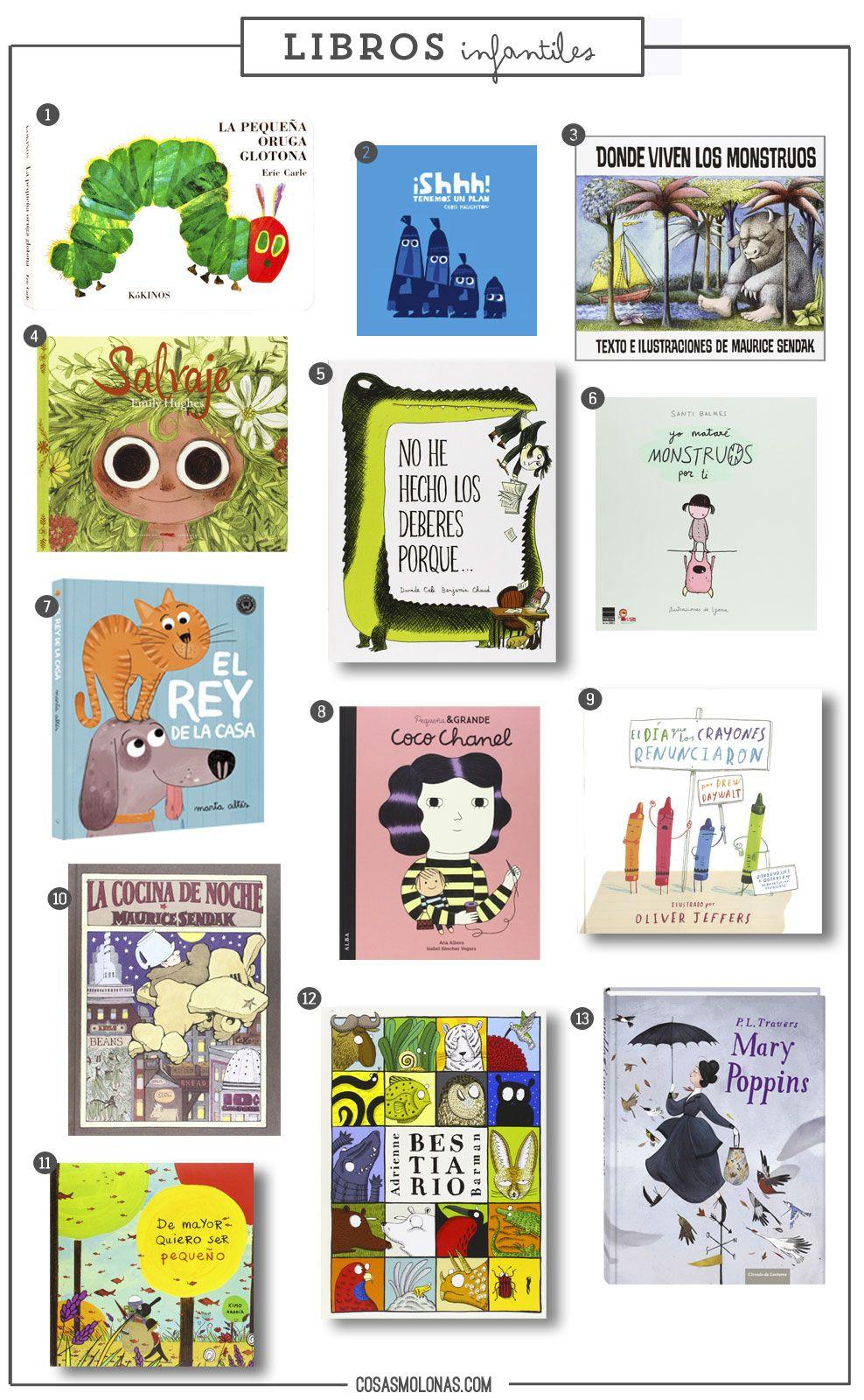 Guía de regalo: Libros infantiles en www.cosasmolonas.com