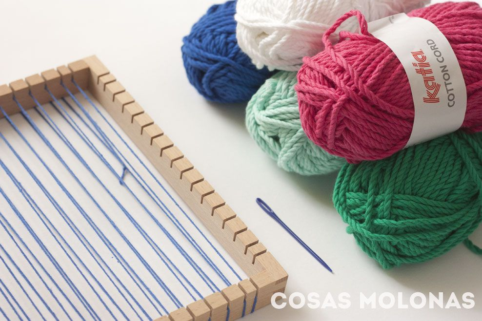 DIY Cómo hacer un tapiz sencillo con telar