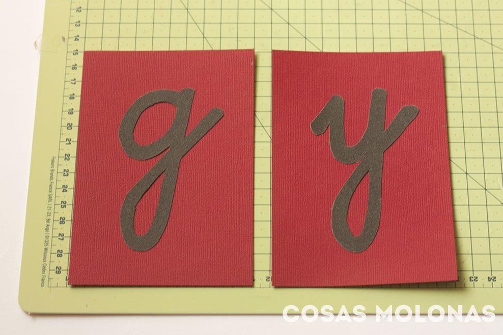 DIY: Letras de lija de Montessori para aprender a leer y escribir
