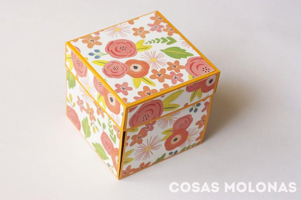 """Scrap: Cómo hacer una """"exploding box"""" o caja explosiva sencilla"""