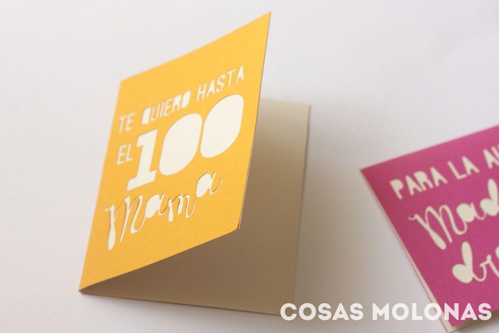 DIY: Tarjetas troqueladas para el Día de la Madre