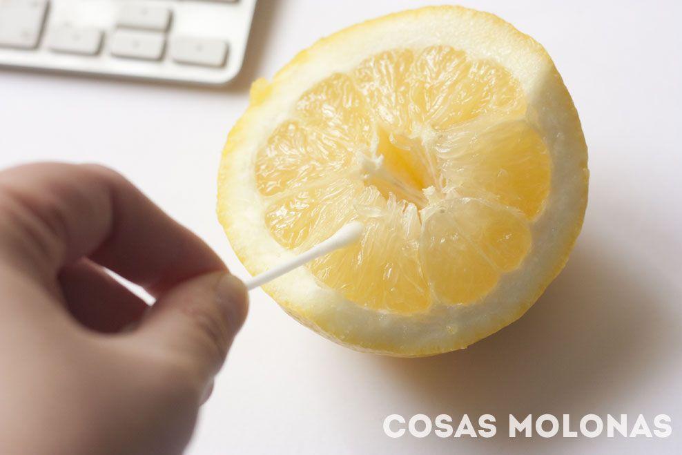 Limón y algodón