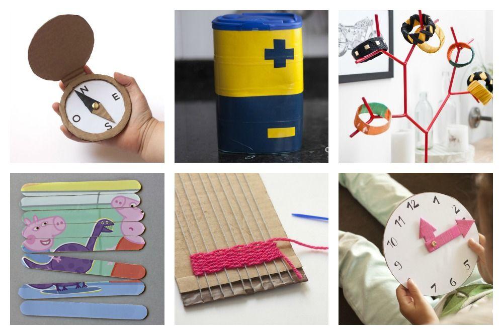 Manualidades para ni os usando materiales reciclados - Manualidades de cosas recicladas ...