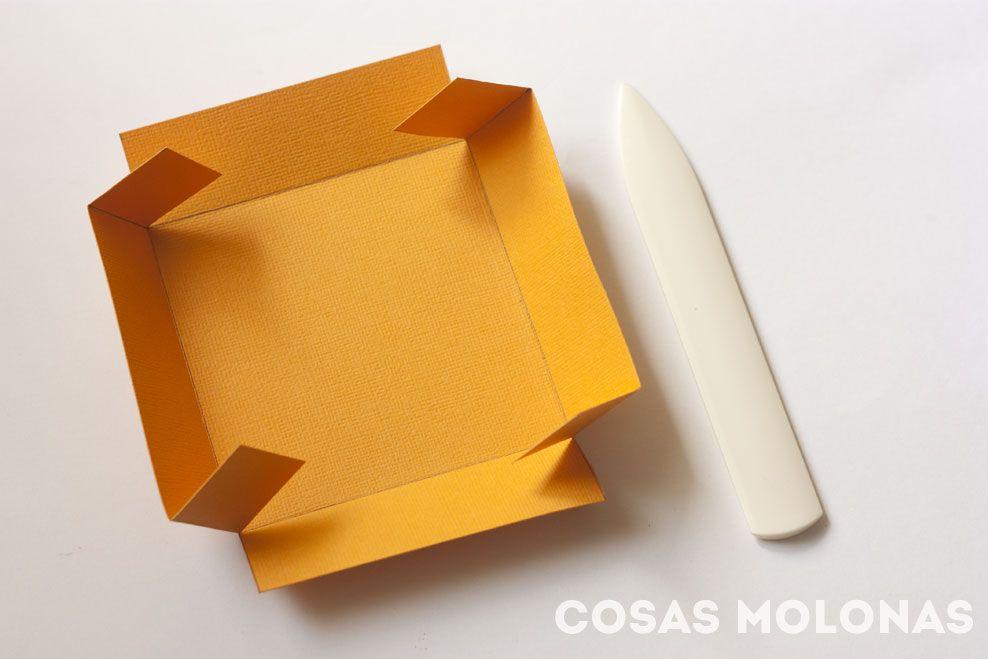 Caja explosiva sencilla: tapa