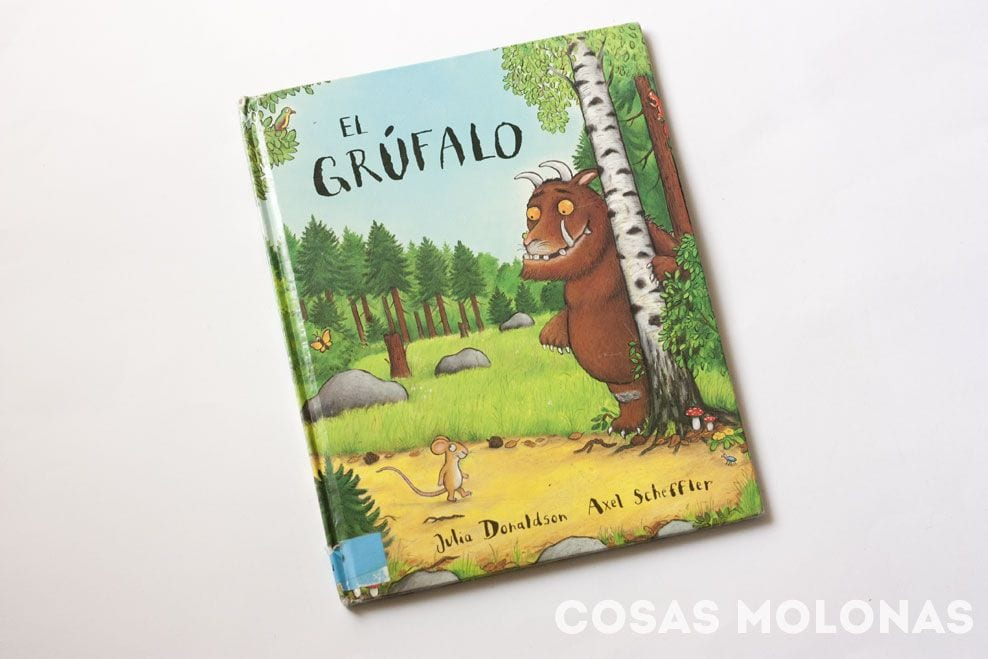 El Grúfalo, de Julia Donaldson e ilustrado por Axel Scheffler.