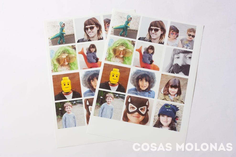 Manualidades para niños: Juego de memoria con fotografías