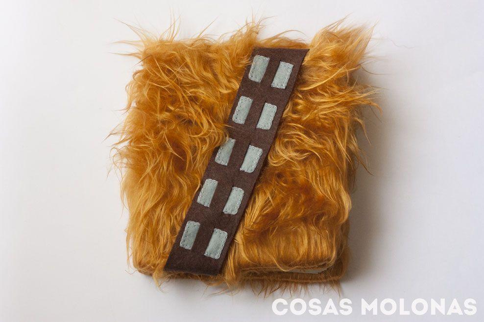 DIY Libreta Chewbacca y... ¡Feliz Día de Star Wars!