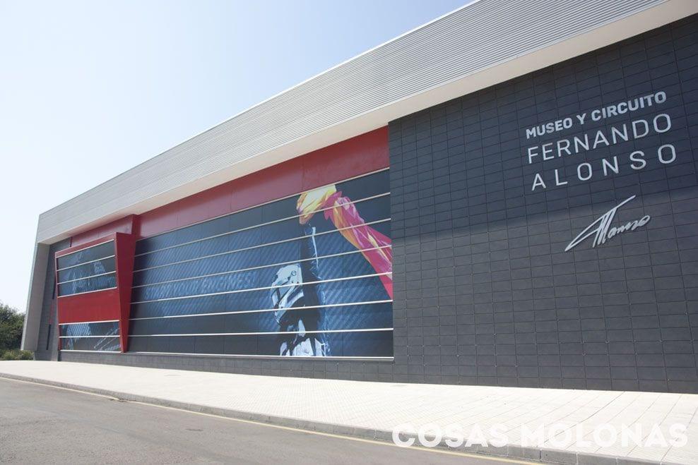Circuito Fernando Alonso Oviedo : Museo y circuito fernando alonso en asturias