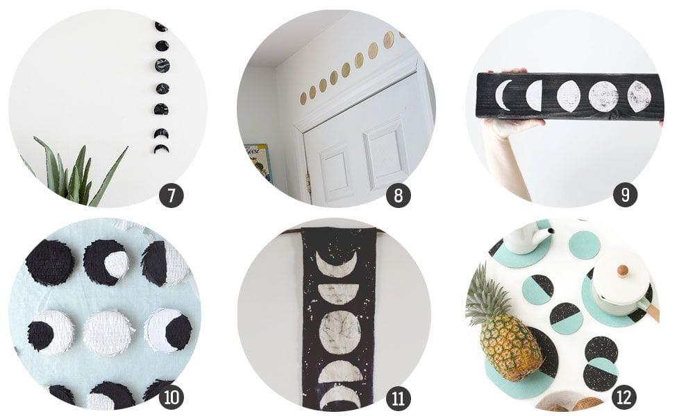 Tendencias DIY: Las fases de la luna