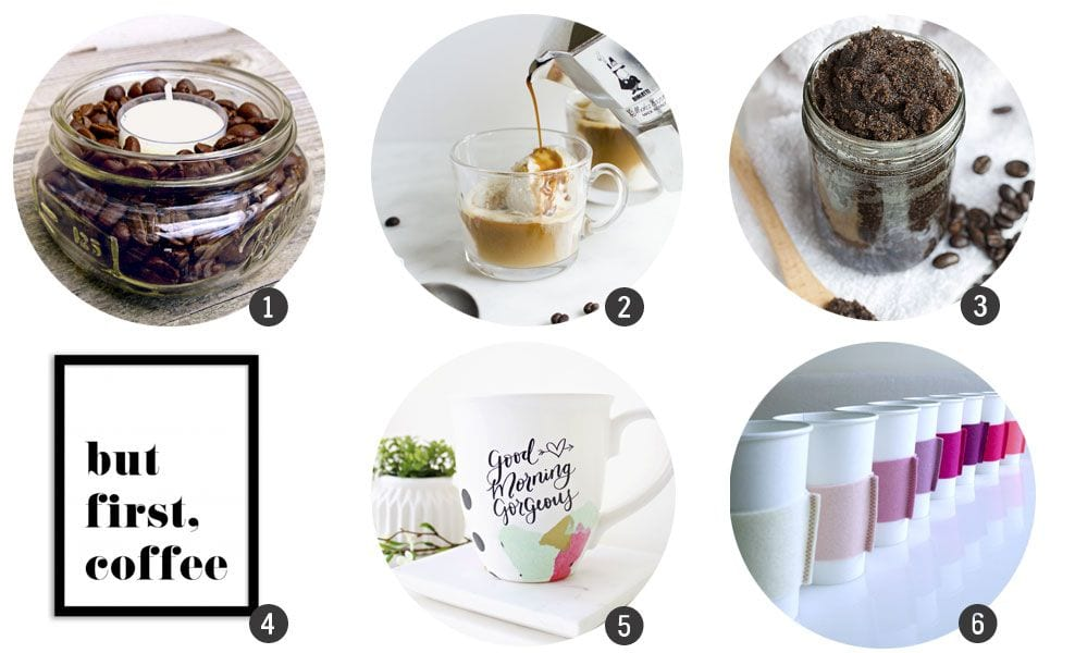 12 DIY para amantes del café