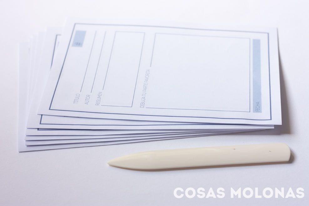 Imprimible / DIY: Diario de lecturas (versión para peques)
