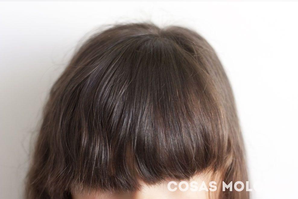 3 peinados para sobrevivir con flequillo largo