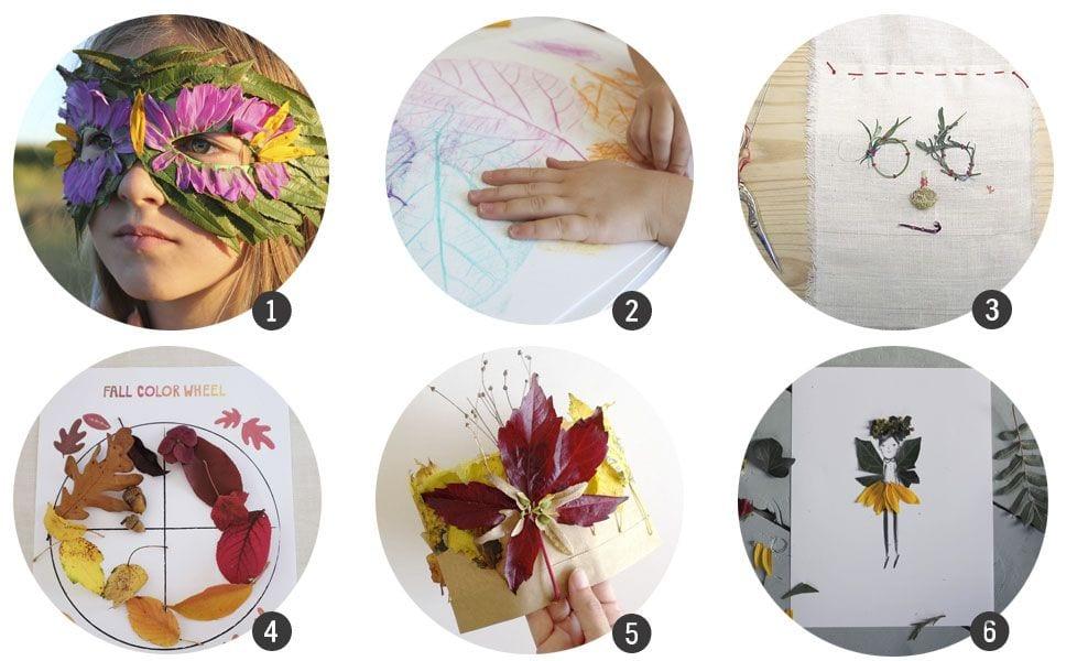 18 manualidades con hojas de Otoño | Cosas Molonas | DIY Blog