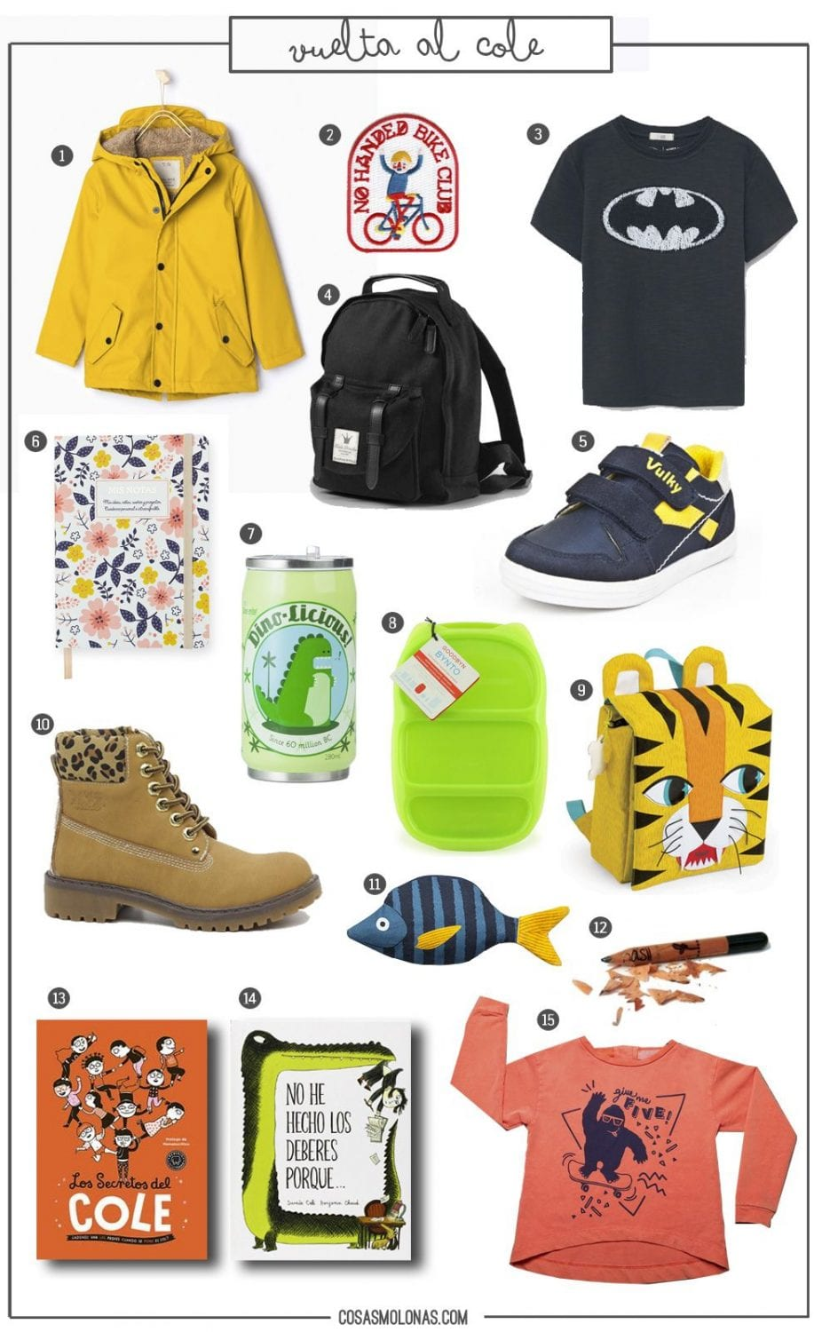"Wishlist ""Vuelta al cole"""