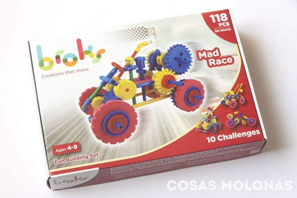 Broks Mad Race: juegos de construcción