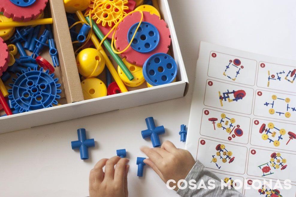 Broks: juegos de construcción para niños de 3 a 6 años