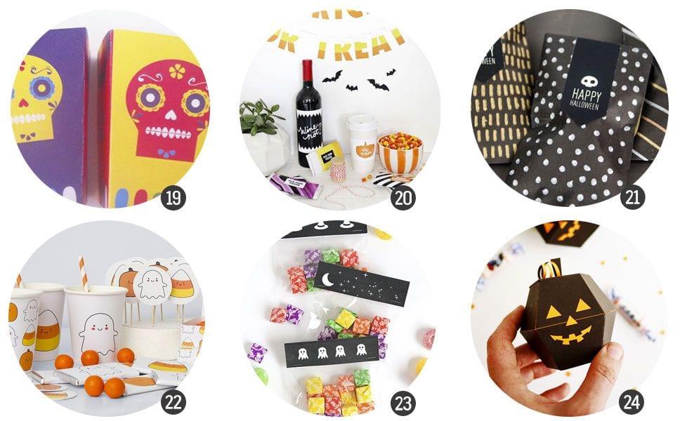 24 imprimibles nada terroríficos para Halloween