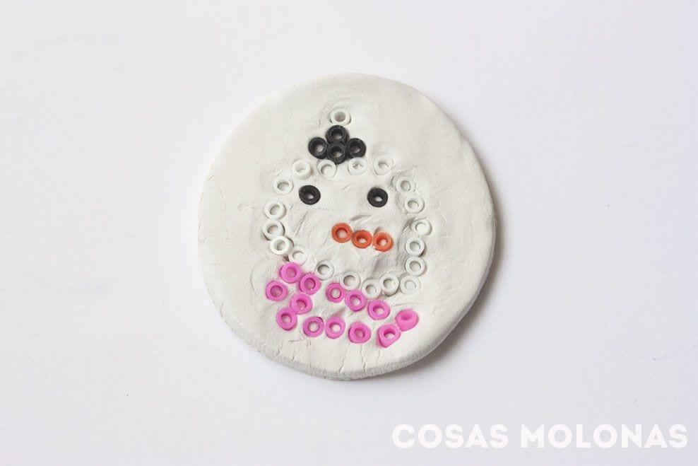 Cómo hacer un adorno fácil de navidad con hama beads