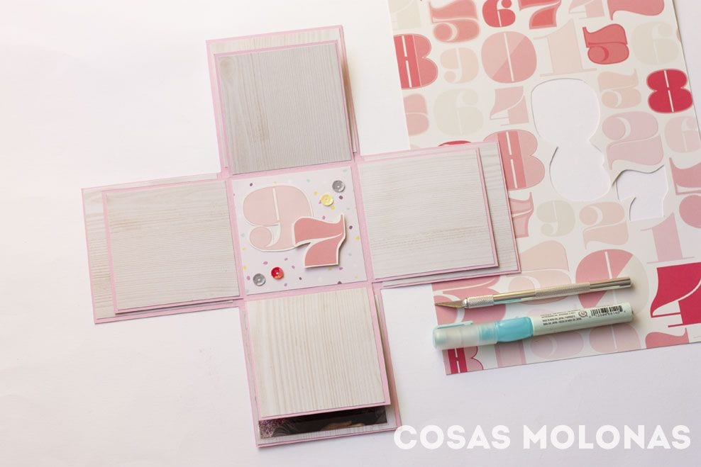 Scrap: Exploding box o caja explosiva doble