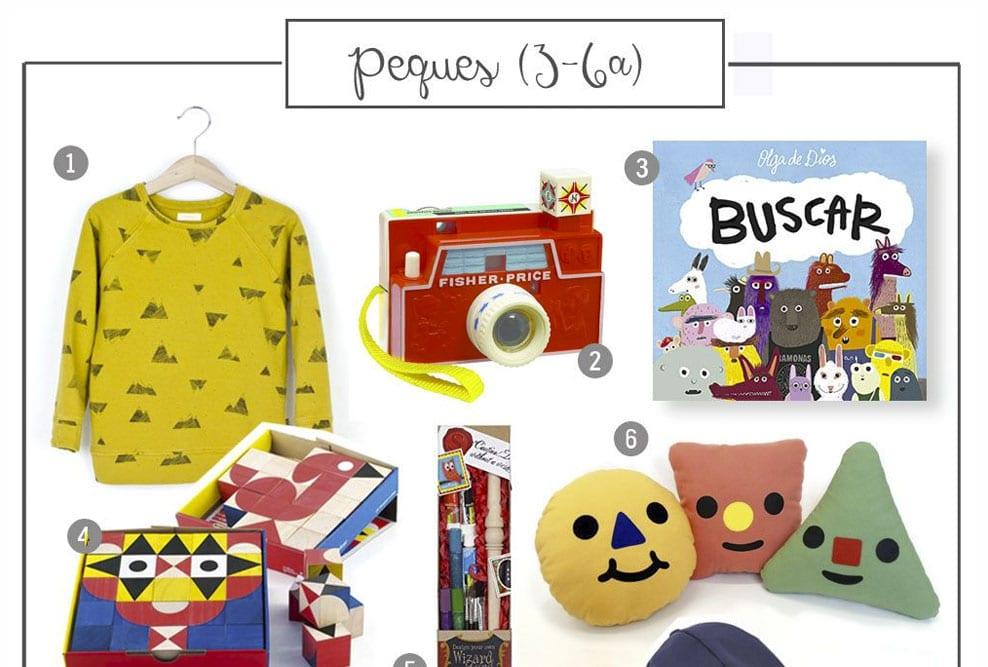 Guía de regalos: Peques (3-6 años)