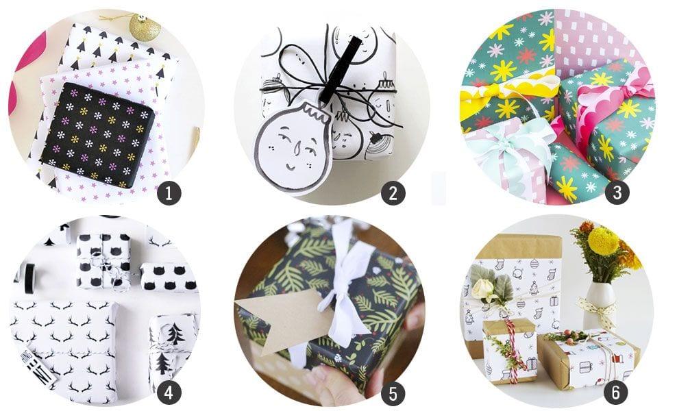 Imprimibles: Papel de regalo | Cosas Molonas | DIY Blog
